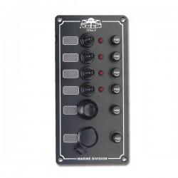 Tableau électrique avec 03 Interrupteur étanche 100*100mm
